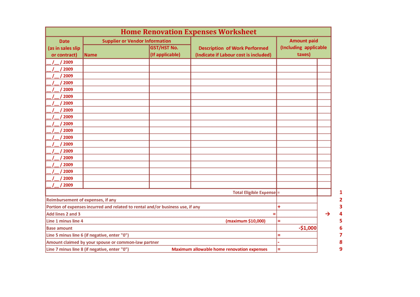Google Docs Budget Template Spreadsheet Excel Home Remodel Template Builder Punch List Form Remodel Budget Template Renovation Budget Planner Free Renovation Spreadsheet Template Home Improvement Spreadsheet  Builder Punch List Form Renovation Spreadsheet Template Spreadsheet Templates for Busines