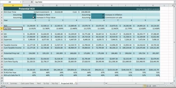 Cash Flow Statements Excel Worksheets