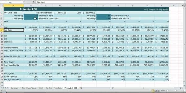 Cash Flow Statements Excel Worksheets