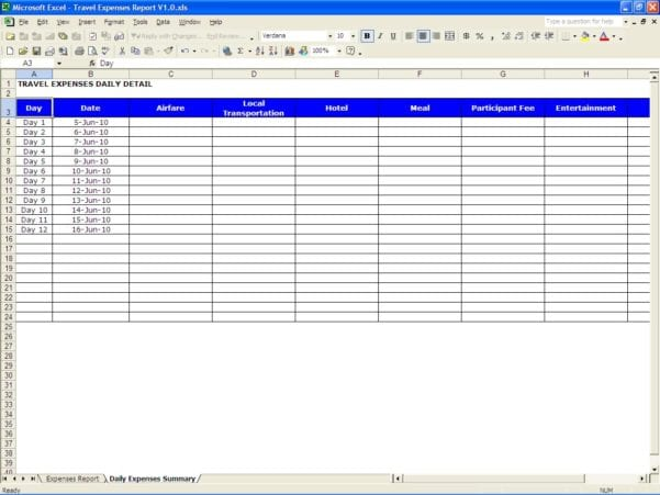 Free Spreadsheet Templates For Business