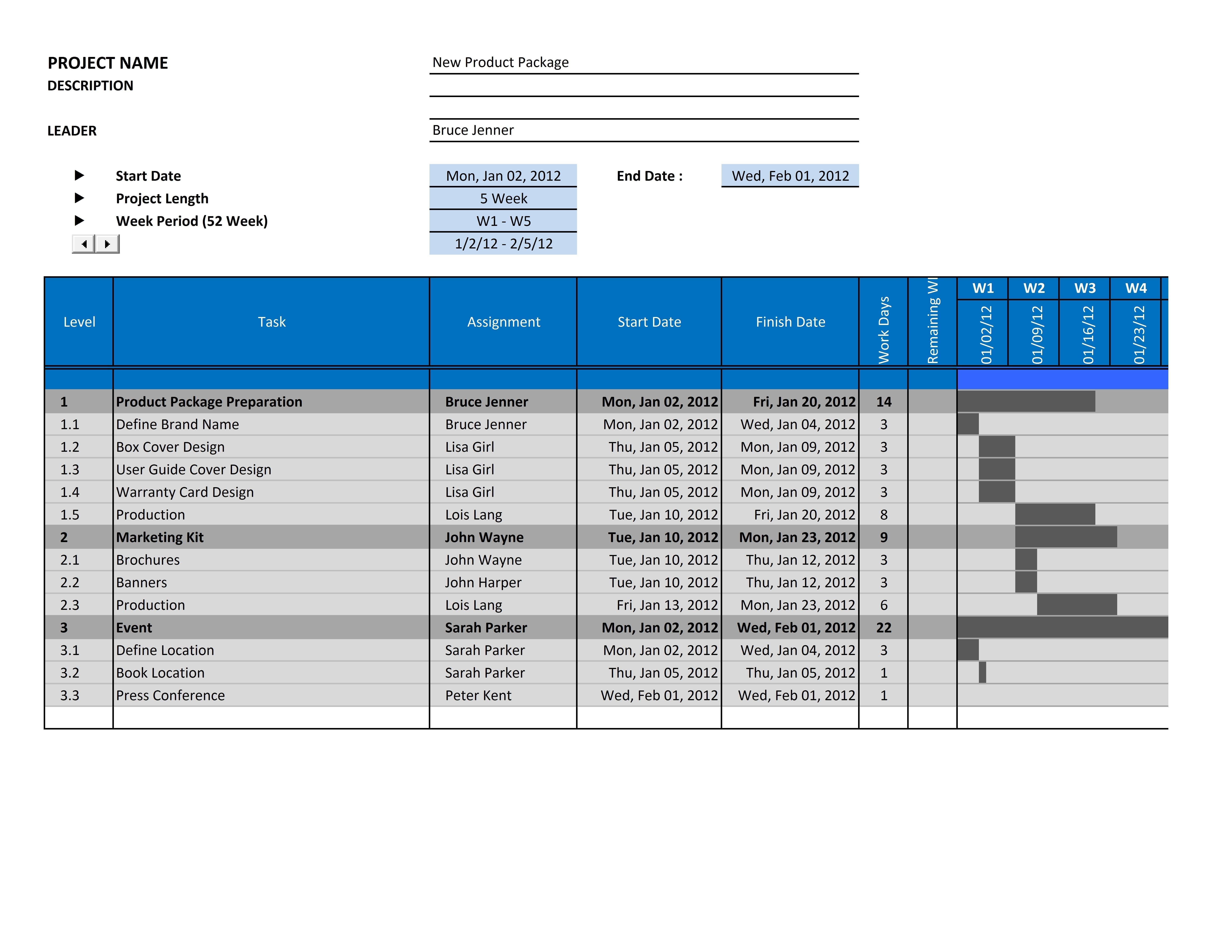 Gantt Chart Excel Template 2013 Excel Spreadsheet Gantt Chart Template Spreadsheet Templates for Busines Spreadsheet Templates for Busines Project Management Gantt Chart Excel