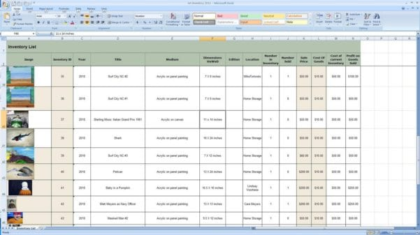 Inventory Management Templates Excel Free
