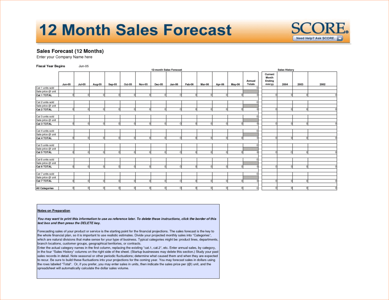 5 Year Cash Flow Template 12 Month Financial Projection Template Sales Forecast Example 5 Year Financial Projection Template Sales Forecast Sheet Template Sales Forecast Model Sales Forecast Template  Sales Forecast Template Sales Forecast Spreadsheet Template Spreadsheet Templates for Busines