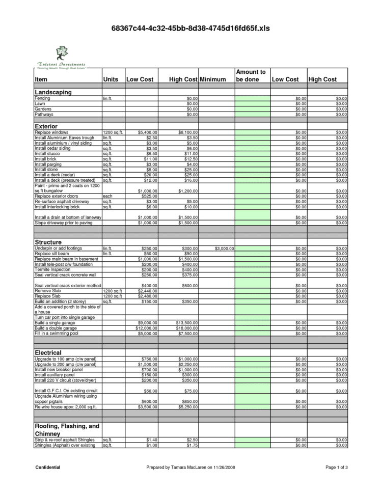 Bathroom Renovation Spreadsheet Google Docs Budget Template Spreadsheet Builder Punch List Form Home Improvement Spreadsheet Renovation Budget Planner Remodel Budget Template Remodel Project Plan Template  Bathroom Renovation Spreadsheet Renovation Spreadsheet Template Spreadsheet Templates for Busines