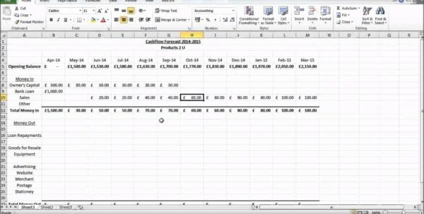 Discounted Cash Flow Excel Template
