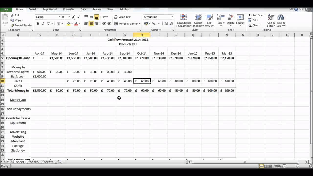 Discounted Cash Flow Excel Template Cash Flow Excel Spreadsheet Template Spreadsheet Templates for Busines Spreadsheet Templates for Busines Cash Flows Excel