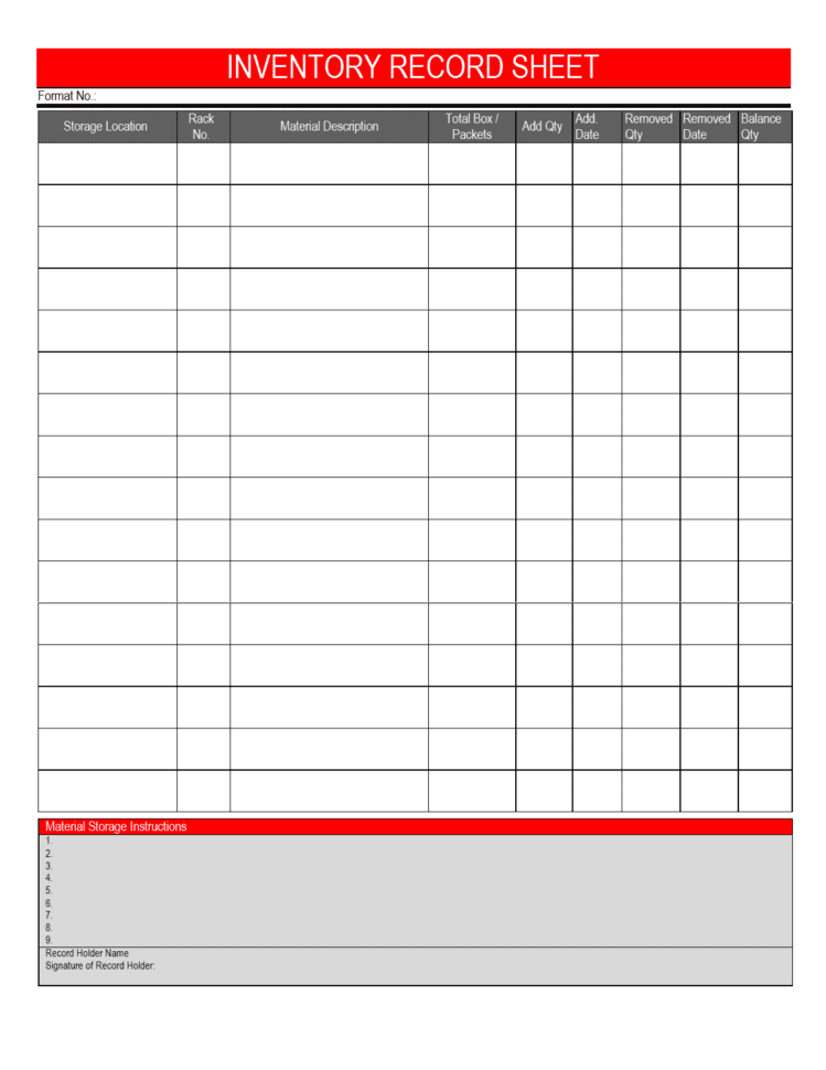 Inventory Sheet Template Free Printable Equipment Inventory Template Excel Inventory Template With Formulas Small Business Inventory Spreadsheet Template How To Make Stock Inventory In Excel Inventory Management In Excel Free Download Free Stock Inventory Software Excel  Equipment Inventory Template Inventory Spreadsheet Template Free Spreadsheet Templates for Busines