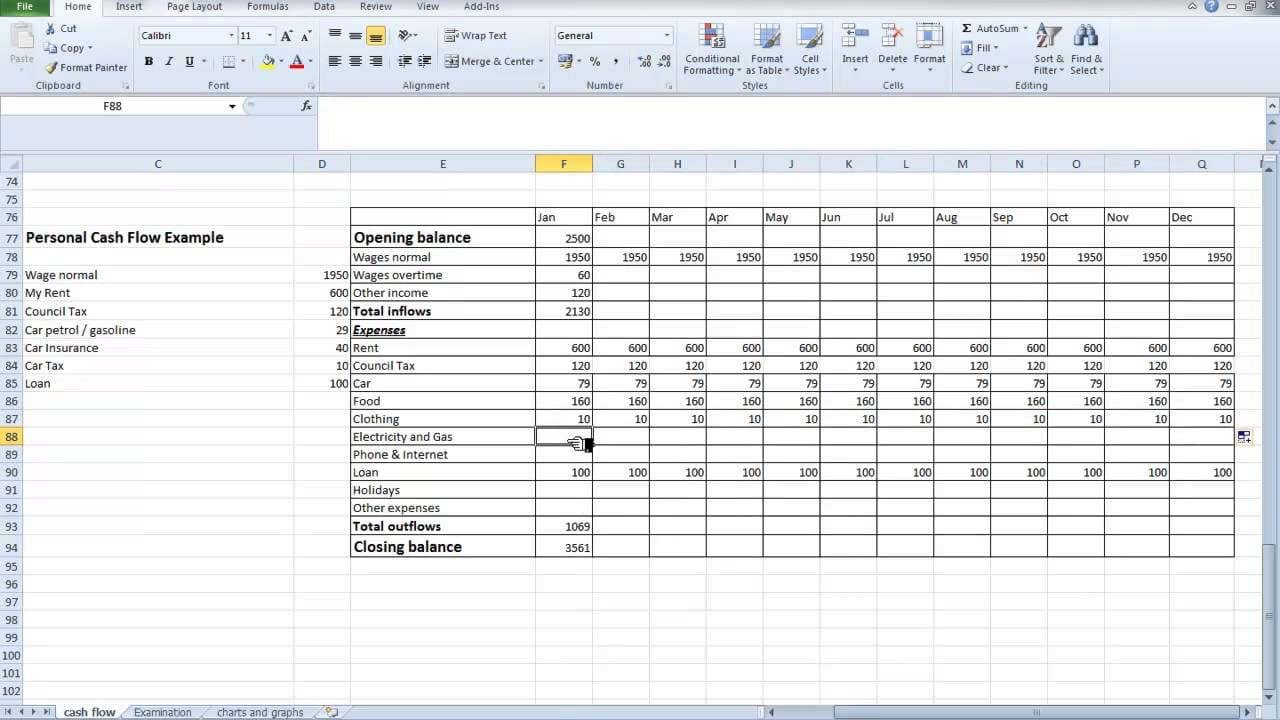 Excel Spreadsheet Template For Small Business Cash Flow Excel Spreadsheet Template Spreadsheet Templates for Busines Spreadsheet Templates for Busines Cash Flow Statements Excel Worksheets