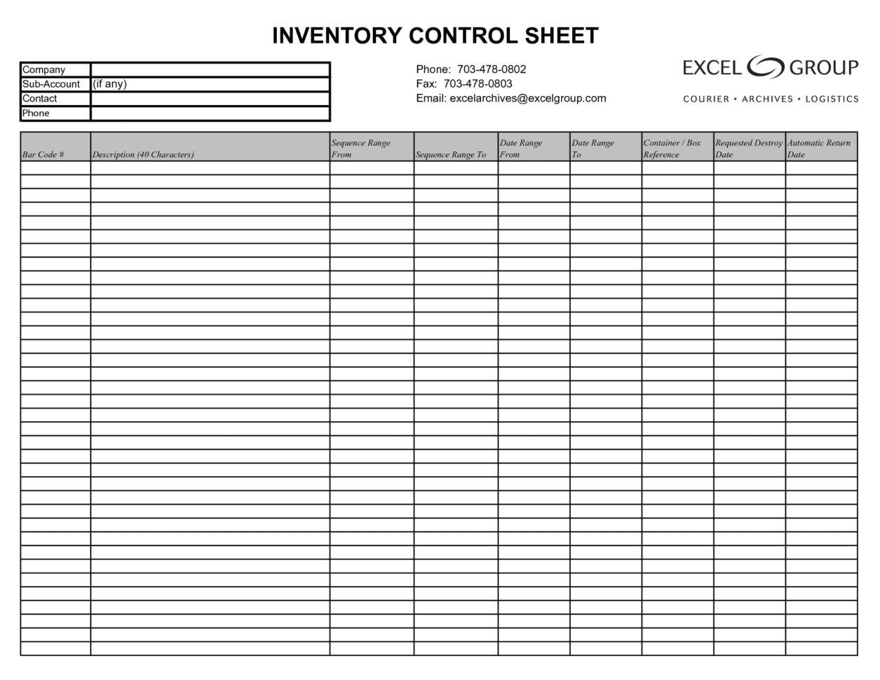 Excel Inventory Tracking Template Small Business Inventory Spreadsheet Template Retail Inventory Spreadsheet Template Simple Inventory Tracking Spreadsheet Inventory Management Sheet In Excel Spreadsheet For Inventory Control Free Printable Inventory List  Free Inventory Management Template Excel Inventory Tracking Spreadsheet Template Spreadsheet Templates for Busines
