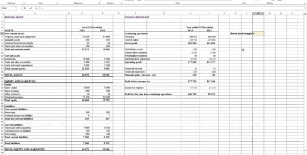 Excel Profit And Loss Formula Profit And Loss Template Uk Profit Spreadsheet Example How To Prepare Profit And Loss Account In Excel Profit And Loss Statement For Small Business Profit Margin Spreadsheet Template Profit And Loss Statement Pdf