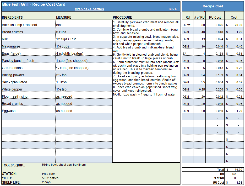 Recipe Costing Template Excel Download Costing Spreadsheet Template Spreadsheet Templates for Busines Spreadsheet Templates for Busines Costing Template Excel Free