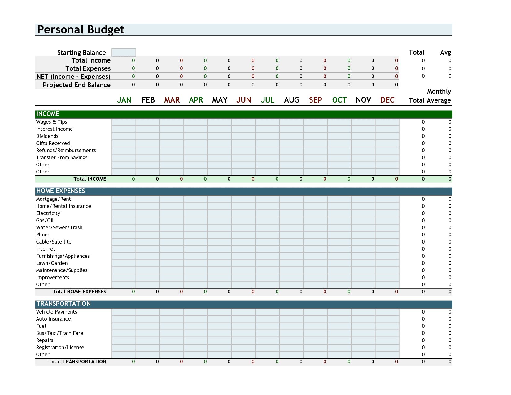 Running Budget Template Personal Finance Spreadsheet Template Spreadsheet Templates for Busines Spreadsheet Templates for Busines Free Budget Templates For Excel