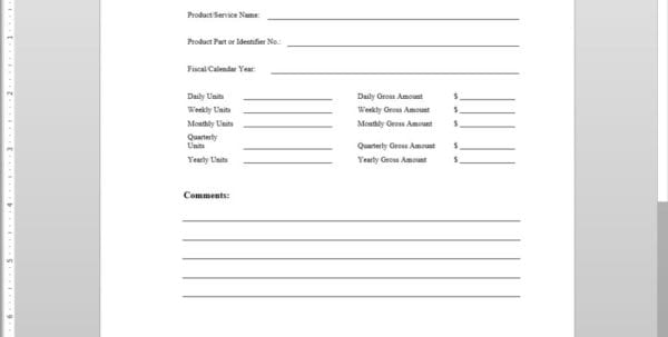 Sales Forecast Model Sales Forecast Example Sales Forecast Spreadsheet Template Free Sales Forecast Template Sales Forecast Sheet Template 5 Year Cash Flow Template Projected Sales Forecast Example